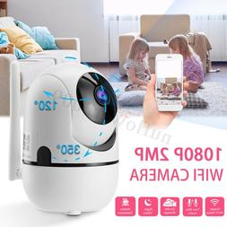 FHD 1080P Wireless Wifi Security Camera Night Vision Baby Mo