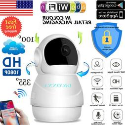 1080P HD Wireless IP Camera Home Security Smart WiFi Audio C