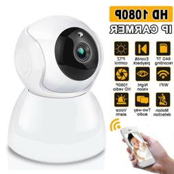 1080P HD Wireless Wifi IP Camera CCTV Security Webcam Home B