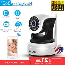 1080P Home Security HD IP Wireless Smart WiFi Audio Surveill