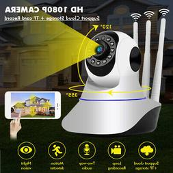 1080P  WIFI IP Camera Home Security Webcam Baby/Pet Monitor