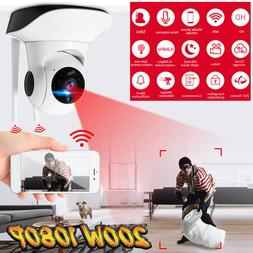 1080P Wireless Wifi Baby Pet Monitor Panoramic Night Vision