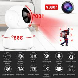 1080p wireless wifi baby pet monitor panoramic