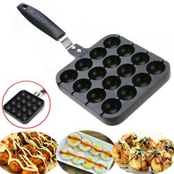 16 holes takoyaki grill pan plate cooking