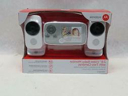 """Motorola 17-2.8"""" Video Baby Monitor With Two Cameras"""