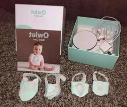 1st Generation Owlet Smart Sock Baby Monitor With 4 Socks. M