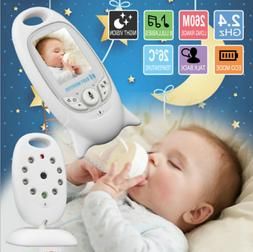 2.4GH Wireless Baby Video Monitor Safe 2-way Talk LCD Screen