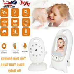 2.4GHz Wireless Digital LCD Color Baby Monitor Audio Video N