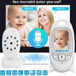 2.4GHz Wireless Video Baby Monitor Camera 2-Way Talk Night V