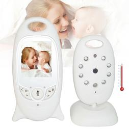 2 digital baby monitor lcd wireless audio
