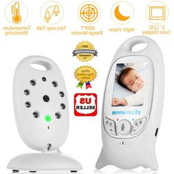 "2"" Digital Wireless Baby Monitor Video Audio Camera 2 Way Ta"