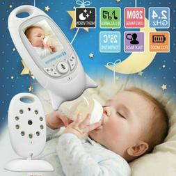 """2"""" in Baby Monitor 2.4GHz LCD Audio Talk Night Vision Wirele"""