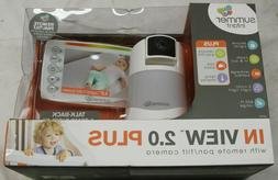 Summer Infant 29740 In View 2.0 Plus Baby Monitor w/ Remote