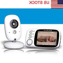 3.2 Inch LCD Screen Baby Monitor with Night Vision & Tempera
