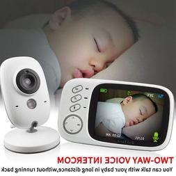 3.2 Inch Wireless Video LCD Night Vision Baby Monitor Securi