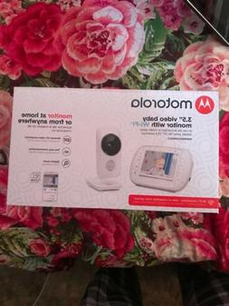 "Motorola 3.5"" Video Baby Monitor with Wi-Fi MBP668CONNECT."