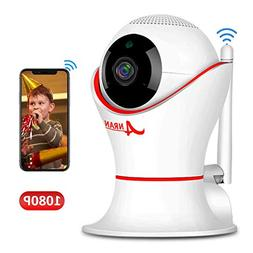 HD 1080P 360 Home Wireless Security Dome IP Camera with 3D N