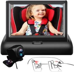 """4.3"""" Baby Car Seat Mirror Monitor with Camera for Back Seat"""