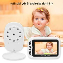 4.3 inch LCD Wireless Baby Monitor Infant Elderly Safety Mon