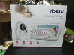 "VTECH 5"" Digital Video Baby Monitor PTZ-2 Cameras VM5262 NEW"