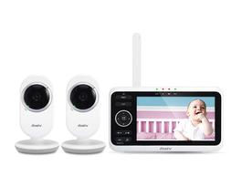 "VTech 5"" High Res. Color Video Baby Monitor 2 Cameras Night"