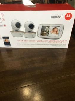 Motorola 5 Inch Portable Video Baby Monitor With Wi-Fi