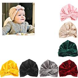 Udobuy7 Pcs Headband Updated Version Baby Hat- Newborn Baby