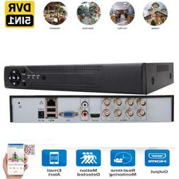 8-Channel 5in1 1080N DVR Video Recorder Motion for Camera Ho