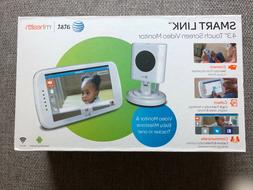 BRAND NEW Baby Monitor, video, touch screen AT&T Smart Link