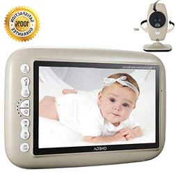 "Baby Monitor Wireless Video W 7.0"" LARGE LCD Screen Night Vi"