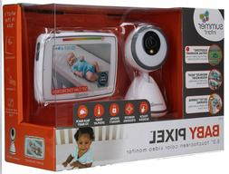 Baby Pixel 5.0 Inch Touchscreen Color Video Monitor, White,