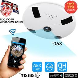 HD Wireless Wifi IP 3D VR Full View IR Security Dome Camera