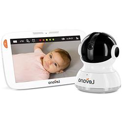 "Levana Aria 7"" HD Touchscreen PTZ Baby Monitor - White"