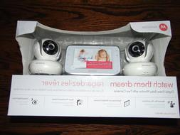MOTOROLA DIGITALVIDEO MONITOR WITH TWO CAMERAS MBP38S-2 NEW