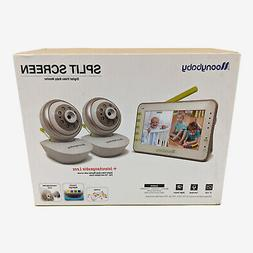MoonyBaby PAN TILT Camera, Split Screen, Two Cameras System