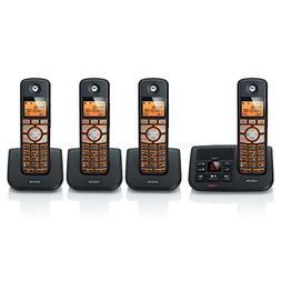 Motorola DECT 6.0 Cordless Digital Home Phone with 4 Handset