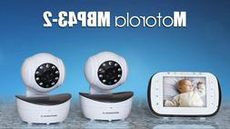 Motorola Digital Video Baby Monitor with 2 Cameras, 3.5 Inch