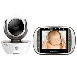 Motorola MBP853CONNECT Dual Mode Baby Monitor with 3.5-Inch