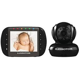 Motorola Video Baby Monitor with 3.5-Inch Color LCD Screen,