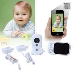 HOT~ 3.2 inch digital wireless baby monitor two-way intercom