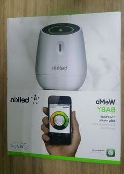 NEW Belkin WeMo Baby Monitor for Apple iPhone iPad and iPod