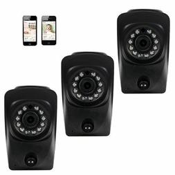 Pixpo 3 Pack 720P HD Baby Monitor Video Audio IP Web Cameras