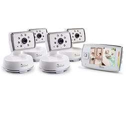 Summer Infant Dual View Digital Video Monitor Set with 4 Cam