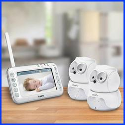 VTech Owl Digital Video Baby Monitor with Two Pan & Tilt Cam