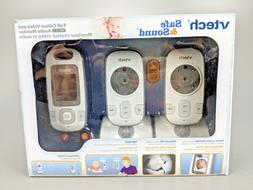 VTech VM312-2 Safe and Sound Video Baby Monitor with Night V
