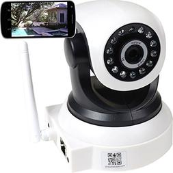 VideoSecu Audio Video Baby Monitor IP Wireless Day Night Vis