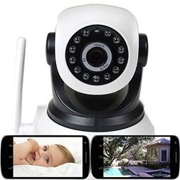 VideoSecu Wireless IP Video Audio Baby Monitor Day Night Vis