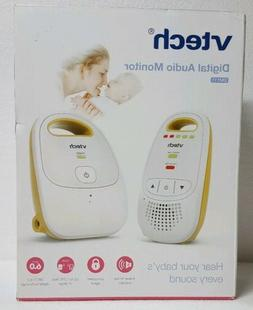 Vtech - Safe & sound Digital Audio Baby Monitor - White/yell