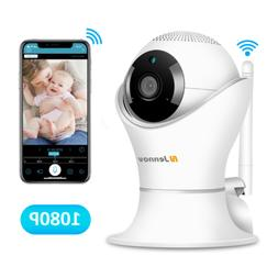 Wireless 1080P 360 Wifi Security IP Camera Pan Tilt CCTV Hom