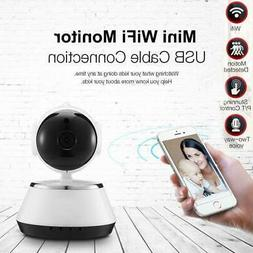 Wireless 720P Pan/Tilt Network Baby Monitor Camera WiFi Surv